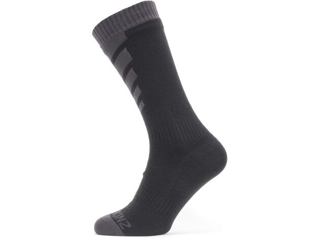 Sealskinz Waterproof Warm Weather Chaussettes mi-hautes, black/grey